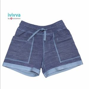 Ivivva by Lululemon Draw String Shorts Size 10